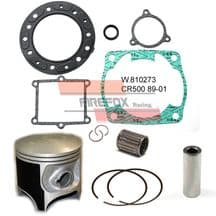 Honda CR500 CR500 1989 - 2001 Mitaka Top End Rebuild Kit Inc Piston & Gaskets